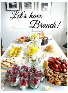 Breakfast And Brunch, Breakfast Buffet, Sunday Brunch, Wedding Breakfast, Brunch Wedding, Morning Breakfast, Breakfast Ideas, Breakfast Recipes, Brunch Buffet