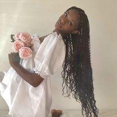 Black Girl Magic, Black Girls, Black Women, Angel Aesthetic, Black Girl Aesthetic, Pretty People, Beautiful People, 3 Chakra, Princess Aesthetic