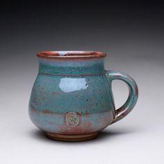 handmade pottery mug teacup ceramic mug with by rmoralespottery