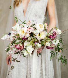 Textural spring bouquet