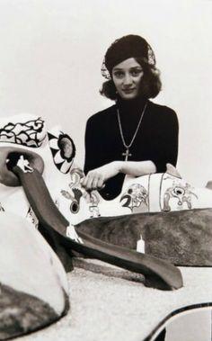 Niki de Saint-Phalle, plasticienne française (1970s