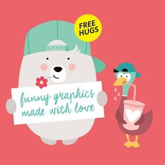 "Gefällt 16 Mal, 1 Kommentare - CONFETTI FRIENDS (@confetti.friends) auf Instagram: ""#confettigraphic #childrenillustration #confetti #graphic #tshirt #bear #thirsty #duck #duckface…"""
