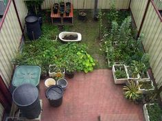 Lots of small space and container gardening...