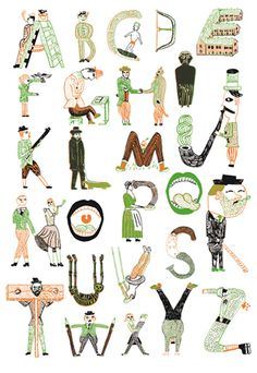 ARTICHO_Alphabet de John Broadley