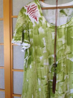Hawaii Hand Painted  Baumwoll-T-Shirt  Plus von PetrinaBlakely