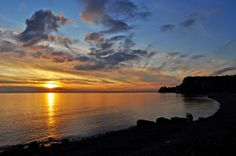 MONFALCONE. WŁOCHY. Monfalcone beach - Italy.