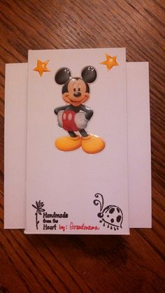 Landon's 1st B'day card-- back