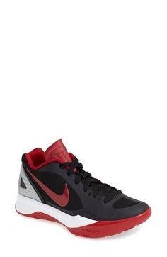 Nike Zoom Hyperspike Volea Negro  University Rojo  Blanco Total De Crimson  Blanco  5f5c04
