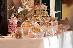 Sweetie tables are a fun addition to a wedding reception!