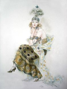 Stunning Early 1900's Illustration ~ Love Everything!
