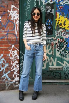 10 Ways to Wear Cropped Jeans, the Biggest Denim Trend of 2016 Glamour waysify