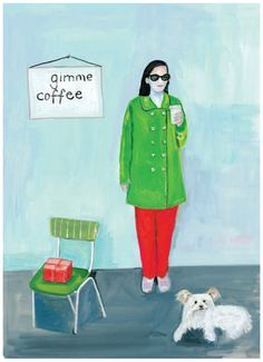 More relaxed and cool. Maira Kalman - Food Rules: An Eater's Manual