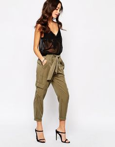 New+Look+Utility+Cargo+Trouser