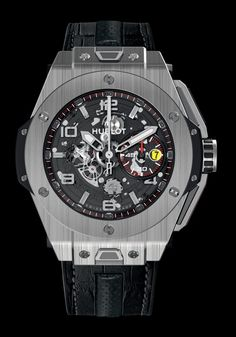 Hublot F1 King power Ferrari Titanium