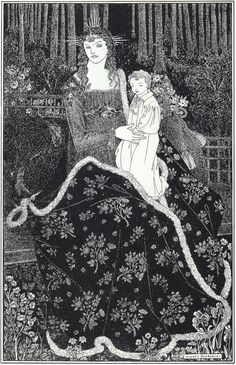 Page: A large Christmas Card Artist: Aubrey Beardsley Completion Date: 1895 Style: Art Nouveau (Modern) Genre: design Dimensions: 15.6 x 23....