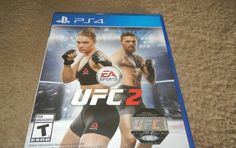 EA Sports UFC 2 Sony PlayStation 4 PS4 Game BRAND NEW FACTORY SEALED!!!