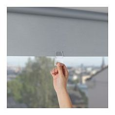"IKEA - TUPPLUR, Block-out roller blind, 38x76 ¾ "", , The blind is cordless for increased child safety.The room darkening blind has a special coating and does not let any light through.Can be mounted inside or outside the window frame, or in the ceiling.You can cut the right side of the roller blind (up to 8"") to fit your window."