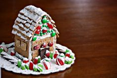 Dairy-Free icing for Gingerbread House  about 40 large ones or 4 cups of the miniature with 1 tablespoon of shortening in the microwave for 30 seconds to 1 minute. stir it till smooth