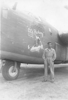 "Nose Art of the Southwest Pacific Area - ""Old Hickory"" - Bomb Group, Bomb Squadron - Serial - Sharpe 12 Thomas Sharpe Collection Nose Art, The Mighty Eighth, Air Birds, Pin Up, Thomas Sharpe, Old Planes, Old Hickory, Aircraft Painting, Airplane Art"