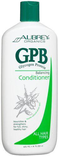 Amazon.com: Aubrey Organics GPB Glycogen Protein Balancing Conditioner, 16-Ounce Bottle: Beauty