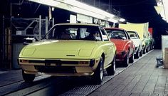 Mazda assembly lines
