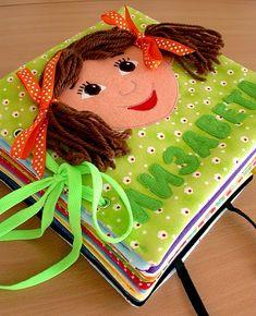 Úžasné !!! Made by Irinelli: Развивающая книжка: все странички