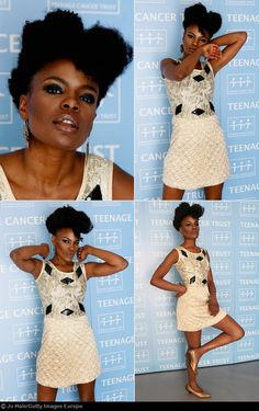 Shingai Shoniwa rocking the Natural.