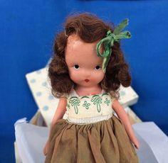 Vintage Nancy Ann Storybook Doll with Box Sweet by VintageFunland