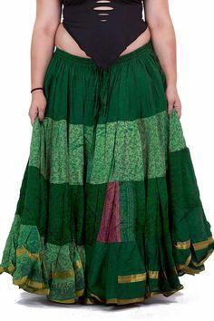 XL FALDA de danza del VIENTRE falda boho ropa de por AltshopUK