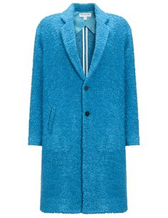 Cerulean Wool Varykino Coat   Eudon Choi   Avenue32
