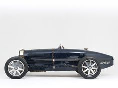 Bugatti Type 51 Grand Prix Racing Car '31.  If you ever hear the sound, you will know why they are so desirable.
