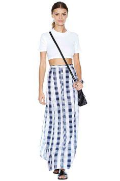 MinkPink School's Out Maxi Skirt