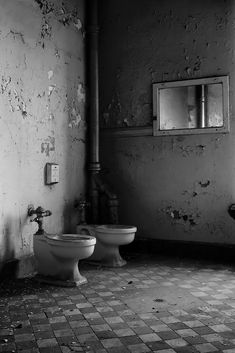 Porcelain - Photo of the Abandoned Mentha State Hospital