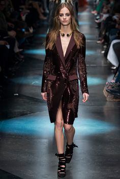 Roberto Cavalli Fall 2015 Ready-to-Wear Fashion Show - Ine Neefs