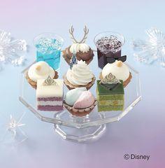 「アナと雪の女王」をイメージしたプチケーキが素敵!