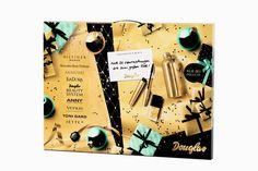 Die neuen Douglas Adventskalender 2014 sind da - mit viel dekorativer Kosmetik, Nagellacken, Pflege und Parfüms http://infarbe.blogspot.de/2014/10/die-neuen-douglas-kosmetik.html