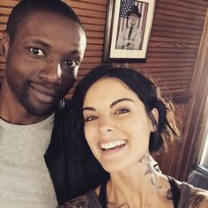 Love me some @brocolirobbrown  Fun times on set. Thanks for making me laugh  #blindspot