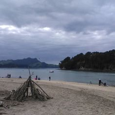 A bit of a dull day in #whitianga today but great for fishing apparently