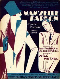 Mam'zelle pardon, 1929 (ill.: [ Roger De Valerio ]); ref. 471