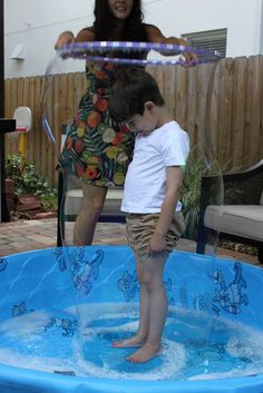 Cool bubble pool