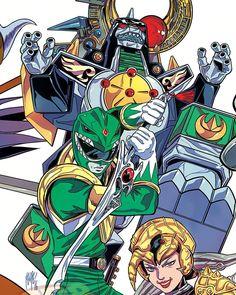 Mighty Morphin' Green Ranger