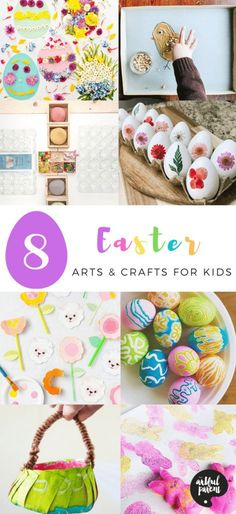 We're featuring 8 Easter arts & crafts ideas for kids on Instagram. Our round up includes spring themed crafts, Easter crafts & play ideas for kids. Easter Arts And Crafts, Easter Crafts For Adults, Bunny Crafts, Easter Crafts For Kids, Easter Activities For Preschool, Creative Activities, Creative Kids, Play Ideas, Art Ideas