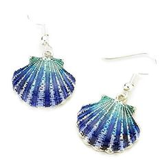 DIY Seashell Earrings - Moms and Crafters