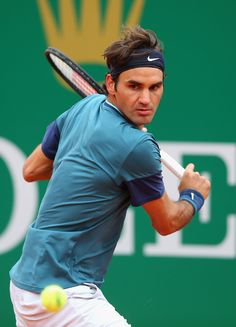 Roger Federer at the Monte-Carlo Rolex Masters 2014