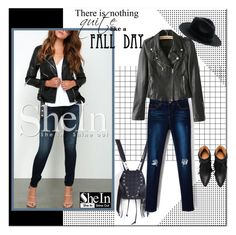 """""""SheIn X/1."""" by adanes ❤ liked on Polyvore"""