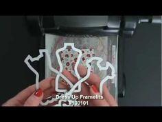 ▶ Stampin' Up! Dress Up Framelits Card Idea - YouTube
