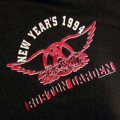 Vintage 1993-1994 Aerosmith NYE concert Get A Grip t-shirt