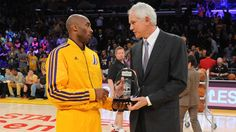 """Lakers GM: """"Team Won't Add Vets Because It's Kobe's Last Season- http://getmybuzzup.com/wp-content/uploads/2015/02/425528-thumb-650x365.jpg- http://getmybuzzup.com/lakers-gm-team-wont-add-vets/- By Kyle Spinner  Kobe Bryant and Mitch Kupchak. (Photo: NBA)  Kobe Bryant announced yesterday that next season will be his last. The five time champion is currently stuck on a team that is in the beginning stages of a rebuilding mode and don't seem to be a contender any"""