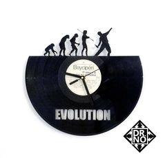 Reloj Vinilo - Evolution, Pura Inspiracion