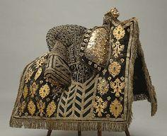 KEYWORDS / TITLE coronation saddle NAME Owner: Gustavus Adolphus of Sweden DATING 1617